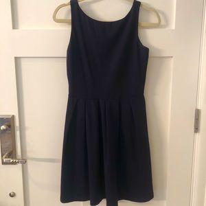 Susana Monaco Amy Fit and Flare Dress, Navy